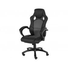 Fotel biurowy obrotowy spider szary