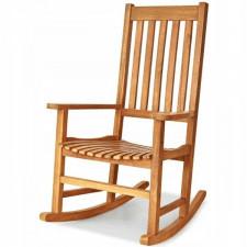 Fotel bujany ogrodowy z drewna akacjowego