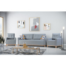 Fotel do salonu barcelona nowoczesny