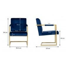 Fotel do salonu polino nowoczesny