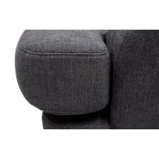 Fotel mirar (bawełna 63%, len 37% |antracyt :len bawełna/antracyt)
