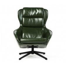 Fotel obrotowy besto 102 cm zielony ekoskóra