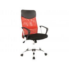 Fotel obrotowy q-025 czerwony