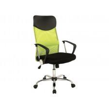 Fotel obrotowy q-025 zielony