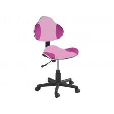 Fotel obrotowy q-g2 różowy