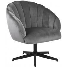 Fotel obrotowy w stylu glamour daniella