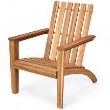 Fotel ogrodowy z drewna akacjowego