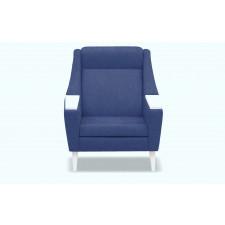 Fotel rubusar (bawełna 63%, len 37% |antracyt :len bawełna/antracyt)