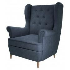 Fotel uszak aros denim