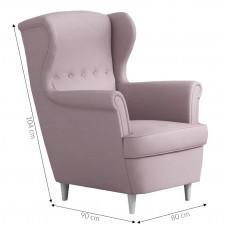 Fotel uszak bonami do salonu