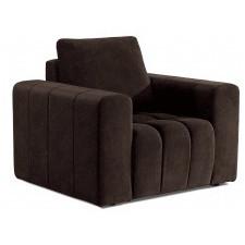 Fotel wypoczynkowy lazaro brązowy welur
