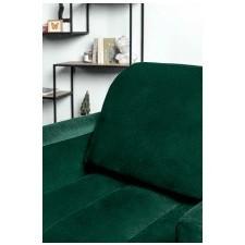 Fotel wypoczynkowy obvious zielony welurowy