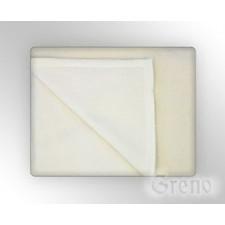 Glamour koc, 7 kolorów greno beżowo-biały - beżowo-biały