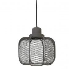 Industrialna lampa sufitowa z drucianym kloszem anjali m
