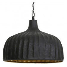 Industrialna lampa wisząca verena czarny mat