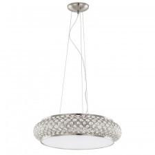 Italux avila abr p0327-06m-f6d2 lampa sufitowa wisząca 6x42w brąz antyczny/kryształ