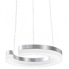 Italux blunder md1202214-1a lampa sufitowa wisząca 1x11,5w led biały/chrom