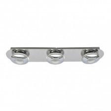 Italux calvin hp-932ab-03-9051b ch spot plafon oprawa sufitowa 3x5w led chrom