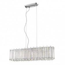 Italux carla p0465-06f lampa wisząca oprawa kryształowa 6x24w chrom glamour