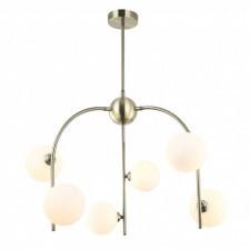 Italux celine mdm-3800/6 ab+w lampa wisząca oprawa industrialna 6x25w brąz antyczny