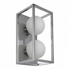 Italux daisy mb-br4367-w2 ch kinkiet industrialny lampa ścienna 2x4w led chrom