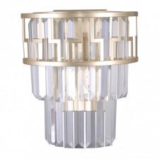 Italux filip wl-43493-2 kinkiet kryształowy lampa ścienna dekoracyjna 2x40w szampański glamour