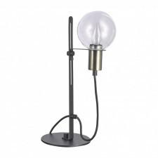 Italux gianni mt16096-1b lampa stołowa oprawa biurkowa lampka nocna 1x40w czarny antyczny brąz