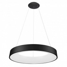 Italux giulia 5304-880rp-bk-3 lampa wisząca oprawa industrialna ściemnialna 1x80w led czarna biała