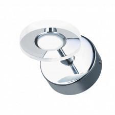 Italux harmony mb1225/1 kinkiet industrialny oprawa lampa ścienna 1x3w led chrom