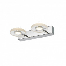 Italux harmony mb1225/2 lampa ścienna kinkiet industrialny 2x3w led chrom