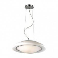 Italux huller 8956-mp lampa sufitowa wisząca 3x60w biały/chrom