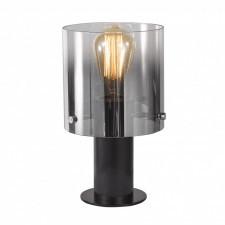 Italux javier mt17076-1a bk lampa stołowa oprawa biurkowa lampka nocna 1x60w przydymiony