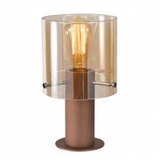 Italux javier mt17076-1a lampa stołowa oprawa biurkowa lampka nocna 1x60w antyczny brąz