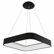 Italux luigi 3945-850sqp-bk-3 lampa wisząca oprawa industrialna 1x50w led biały czarny