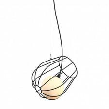 Italux melisa mdm-3942/1 bk lampa wisząca oprawa industrialna metalowa 1x25w czarny