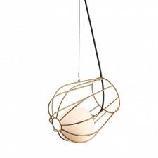 Italux melisa mdm-3942/1 gd lampa wisząca oprawa industrialna metalowa 1x25w złoty