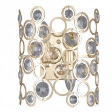 Italux nardo wl-33064-2-ch.g lampa ścienna kryształowa oprawa dekoracyjna kinkiet nowoczesny 2x40w z