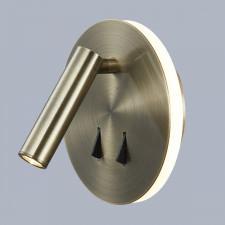 Italux nemo sp.7348-02a-ant-b kinkiet industrialny lampa ścienna 1x9w led antyczny brąz vintage