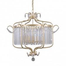 Italux pnd-33057-6-ch.g rinaldo 6x40w lampa wisząca oprawa dekoracyjna kryształowa szampański złoty