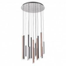 Italux reyna md17077-16a lampa wisząca oprawa industrialna dekoracyjna 1x64w led chrom