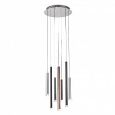 Italux reyna md17077-7a lampa wisząca oprawa industrialna 1x28w led chrom