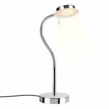 Italux sergio 14131008l lampa stołowa oprawa biurkowa lampka nocna 1x4,5w led chrom
