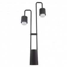 Italux sorano c49/80/bk-9 lampa stojąca oprawa industrialna zewnętrzna 2x3w led czarny