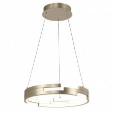 Italux velar md16003097-1b gold lampa wisząca oprawa industrialna 1x60w led złoty