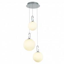 Italux verena md18002015-3c lampa wisząca oprawa industrialna dekoracyjna 1x40w led biały chrom