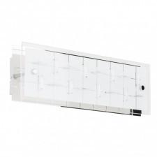 Italux zeltum w29584-7a kinkiet lampa ścienna 1x7w led biały/chrom