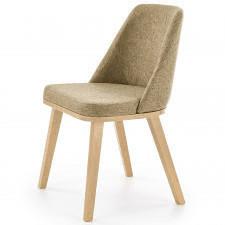 Krzesło do jadalni brad dąb miodowy/brązowy