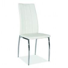 Krzesło do jadalni toska białe ekoskóra