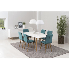 Krzesło freda skandynawskie zielone