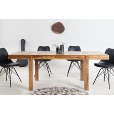 Rozkładany stół laros 120-200x80cm drewniany, brązowy